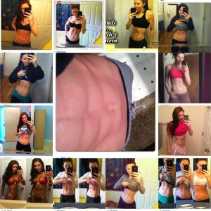 Just some of the many ab selfies! :)